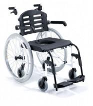 Six Wheels Shower Wheelchair