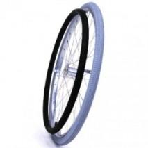 Silicon rubber cover for handrim