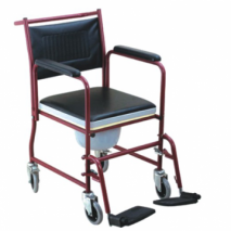 Steel Commode Chair