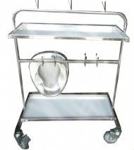 Mobile bedpan and Urinal Stand