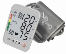 Large LCD ARM Blood pressure monitor with bluetooth
