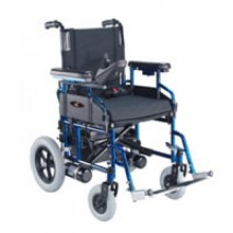 Wheelchair - electric, folding