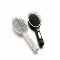 Oval Shape Design Massaging Hairbrush