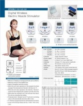 Digital Wireless Electric Muscle Stimulator