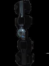 Post-Op Knee brace S - Aluminum Hinge with Carbon fiber lines print
