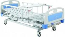 Three-crank manual hospital bed