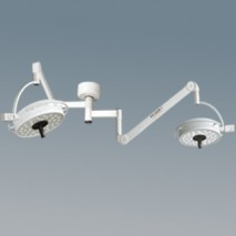 Double Ceiling Operating Lamp