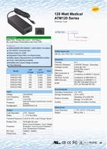 120 Watt Medical Adapter
