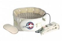 Lumbar air traction belt