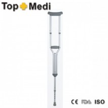Height Adjustable Wooden Underarm Axillary crutches for disabled and adults