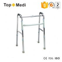 High Quality Aluminum Foldable Standing Frame Walking Aid for handicapped