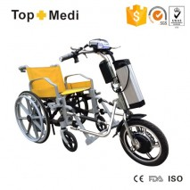 TopMedi 36V 350W Electric Handcycle Tricycle Wheelchair Conversion Kit with air tire