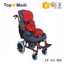 Reclining Detachable Seat Cerebral Palsy Children Wheelchair for diasbled