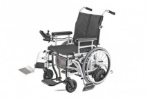 Hybrid WheelChair-Motorized & Manual