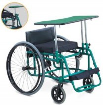 Topmedi rehabilitation therapy supplies leisure and sports wheelchairs for shooting TLS744LQ
