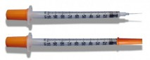 Disposable piston syringes