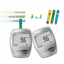 Bluetooth Multi-function Cholesterol/ Uric Acid/ Blood Glucose Meter