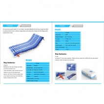 alternating pressure mattress with compressor