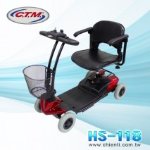 Tubular Four Wheel Mobility Scooter