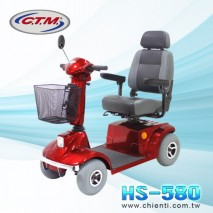 Mid-Range Four Wheel Mobility Scooter