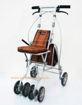 Shopping Cart, foldable and height adjustable