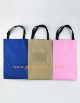 Cotton Bag with zipper and strap