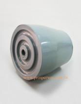 Rubber Ferrules, grey 25mm