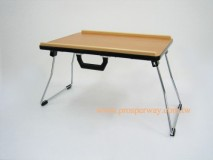 Overbed Table foldable with anti-slip tips