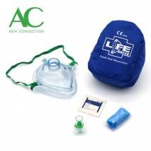 Adult CPR Pocket Mask in Soft Case