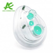 Twin Port CPAP Mask with Two Valves
