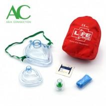 Adult & Infant CPR Pocket Masks in Soft Case