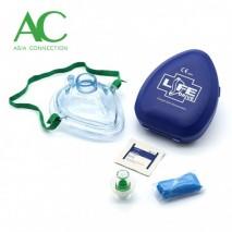 Adult CPR Pocket Mask in Hard Case